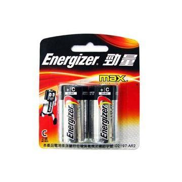 勁量鹼性電池2號2入(B-E93BP2)