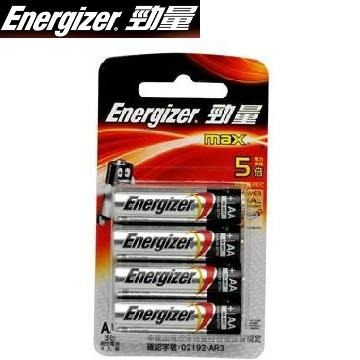 勁量鹼性電池3號4入(B-E91BP4)