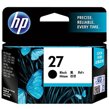 HP 27號黑色墨匣(C8727AA)