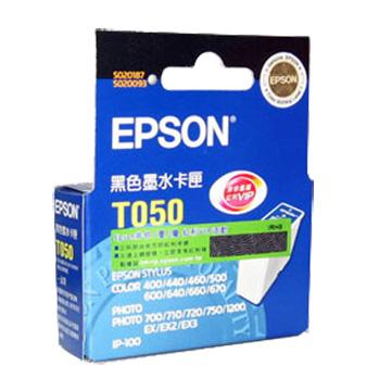 EPSON T050150 黑色墨匣(T050150)