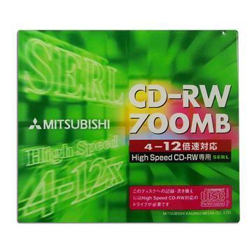 三菱12X CD-RW單片盒裝(MITCDRWSWEU1P)