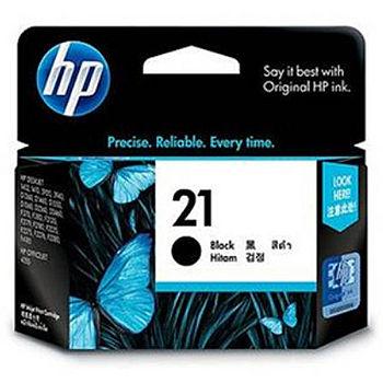 HP 21號黑色墨水匣