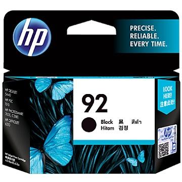 HP 92號黑色墨水(C9362WA)