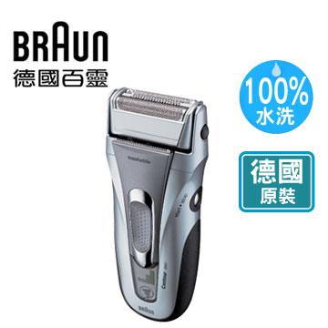【全自動洗淨系統、讓刮鬍刀更貼面】德國百靈鋒馳獵鬍電鬍刀 5887 5887