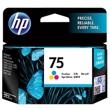 HP 75號彩色墨水匣(CB337WA)