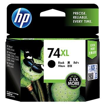 HP 74號XL黑色墨水匣(CB336WA)
