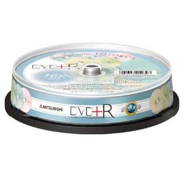 三菱 16X 五色櫻花 DVD+R 10片桶裝(MITDVD+RCDTR47C10)