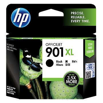 HP 901號XL黑色墨水匣(CC654AA)