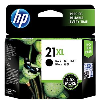 HP 21號XL黑色墨水匣(C9351CA)