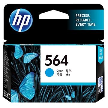 HP 564號 藍色墨水匣(CB318WA)
