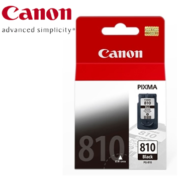 CANON  PG-810  黑色墨水匣(PG-810)