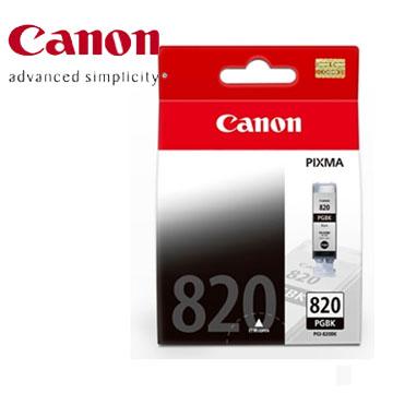 CANON  PGI-820BK  黑色墨水匣(PGI-820BK)