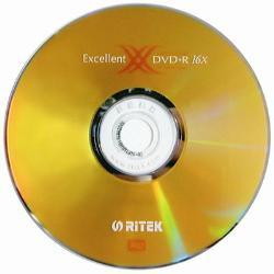 RITEK 16X DVD+R(50片桶裝)(16X DVD+R)