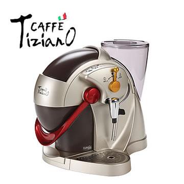 Caffe Tiziano義式膠囊咖啡機(TSK-1136(金))