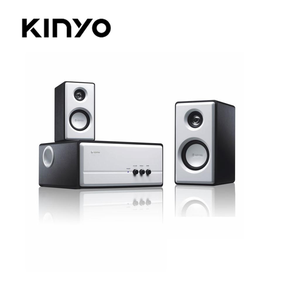 KINYO 2.1聲道防磁多媒體喇叭KY-670(KY-670)