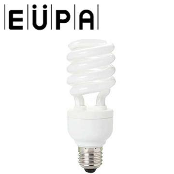 【福利品】EUPA 23W電子式螺旋省電燈泡(黃光-六入組)(HLX-23WL)