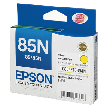 EPSON 85N黃色墨水匣(T122400)