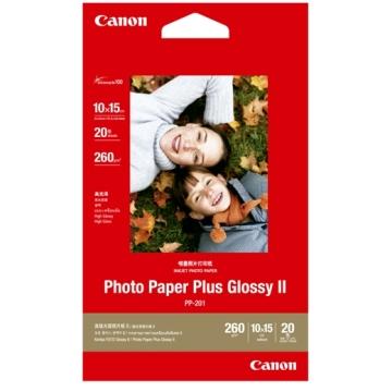 Canon超光亮4X6相片紙(20入)(PP-201 4X6)