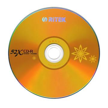 RITEK 花語52x CD-R(50片桶裝)(52x CD-R)