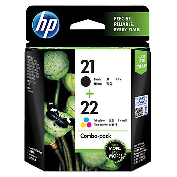 HP 21/22號組合包墨水匣