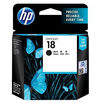 HP 18號黑色墨水匣-C4936A(C4936A)