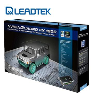 麗臺 Quadro FX1800 工作站繪圖卡(Quadro FX1800 768M D)