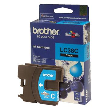 Brother LC-38C藍色墨水匣