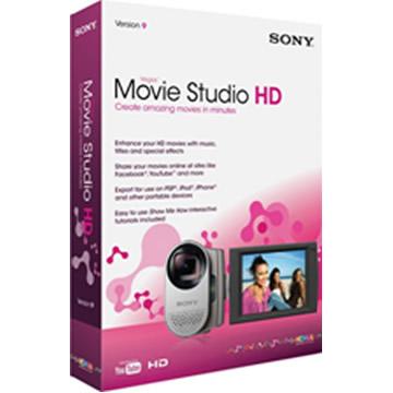 SONY Vegas Movie Studio HD(英文版)(MSMSHD9000)