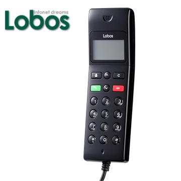 Lobos Skype有線網路電話(黑)LB-SP170(LB-SP170(Black))