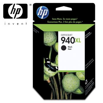 HP 940號XL黑色墨水匣(C4906AA)