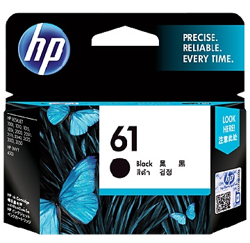 HP 61號黑色墨水匣