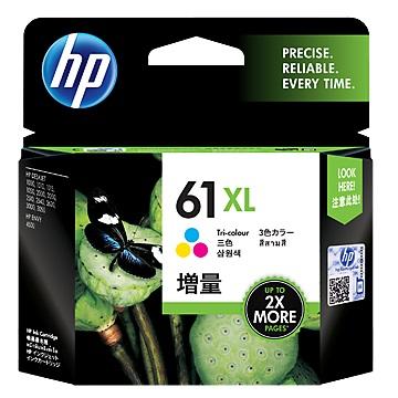 HP 61號XL彩色墨水匣(CH564WA)