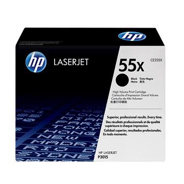 HP P3015 黑色碳粉匣(12.5K)(CE255X)