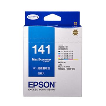 EPSON 141組合包墨水匣(C13T141650)