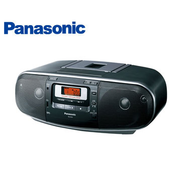 Panasonic USB/MP3手提CD RX-D55-K(RX-D55-K)