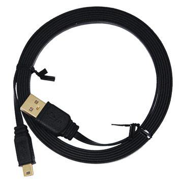 i-gota超薄型USB2.0連接線-A公對Mini5P-2M(FUSBAM5PP02)