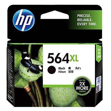 HP 564號XL黑色墨水匣(CN684WA)