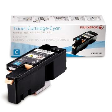 FujiXerox CP105/CP205/CM205藍色碳粉(TNFXCT201592)