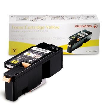 FujiXerox CP105/CP205/CM205黃色碳粉(TNFXCT201594)