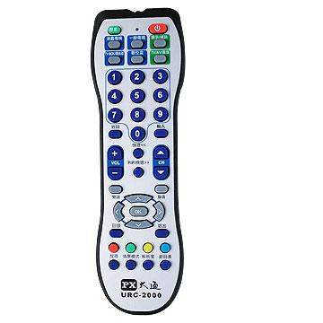 大通六合一液晶電視萬用遙控器(URC-2000)