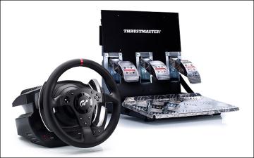 PS3-GT5 方向盤(T500RS)PS3-GT5週邊 PS3-GT5週邊