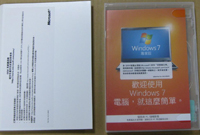 Windows7 專業中文隨機版32Bit DVD SP1(C-Win7 Pro SP1 32B/D)