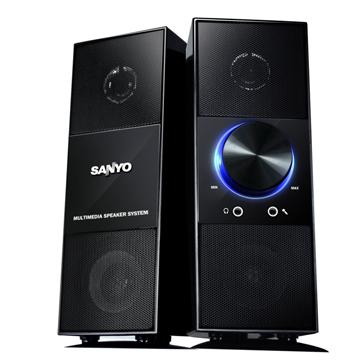 SANYO 2.0聲道多媒體喇叭-天之韻(SYSP-1027)