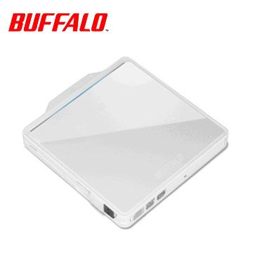 BUFFALO W型收納DVD外接式燒錄器(白)(DVSM-PC58U2VW)