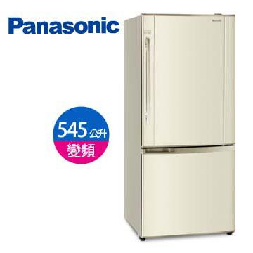Panasonic 545公升上冷藏雙門變頻冰箱(NR-B555HV-N(琥珀金))