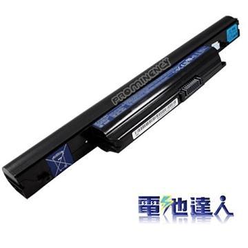 電池達人Acer筆電用電池(黑)(ac0301)
