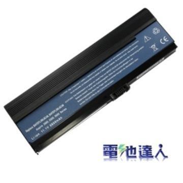電池達人acer筆電用電池(黑)(ac0154)