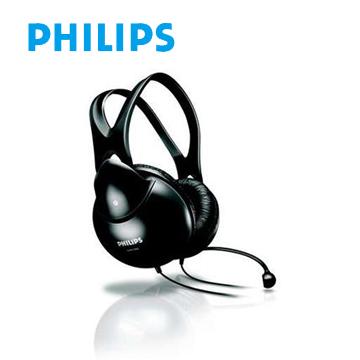 PHILIPS 頭戴式耳機麥克風(SHM1900)