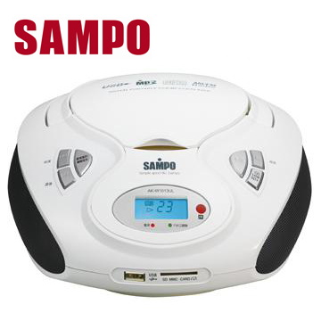 聲寶 MP3/USB手提CD  AK-W1013UL