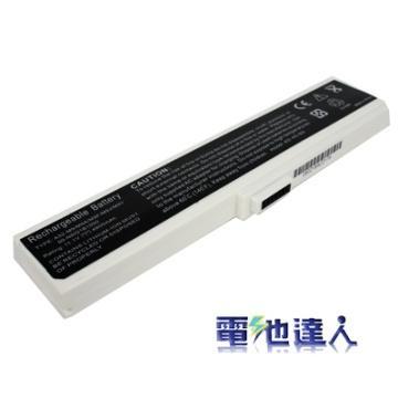 電池達人Asus筆電用電池(白)(as0032)